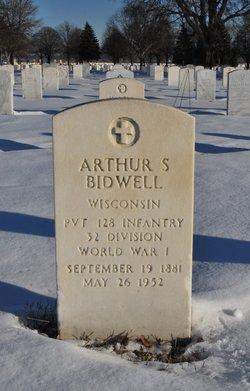 Arthur S Bidwell