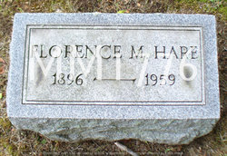 Florence M. <I>Crowthers</I> Hare