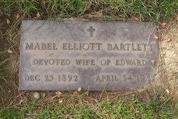 Mabel <I>Elliott</I> Bartlett