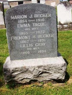 Emma <I>Tague</I> Becker