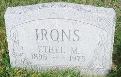 Ethel M. Irons