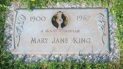 Mary Jane <I>Henry</I> King