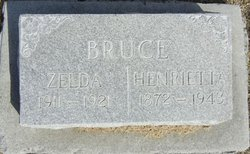 "Henrietta ""Etta"" <I>Scarlett</I> Bruce"