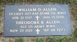 2LT William D Allen