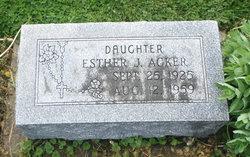 Esther J. Acker