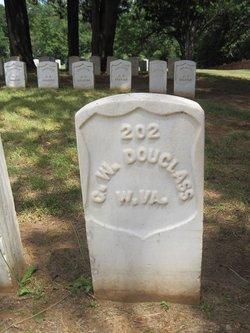 Pvt George W. Douglass