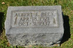 Albert E Beck