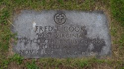 PVT Fred Lanstrom Cook