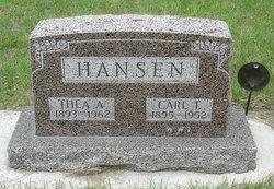 Thea A <I>Otteson</I> Hansen