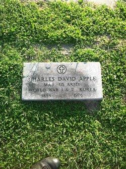 Maj Charles David Apple