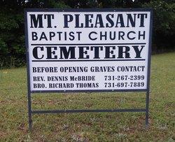 Mount Pleasant Baptist Church Cemetery #02