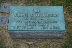 Frank G. Fetterman