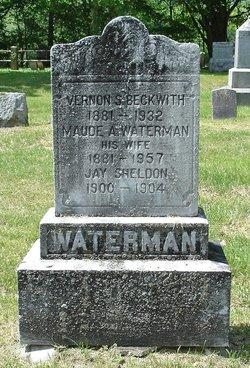 Maude A <I>Waterman</I> Beckwith