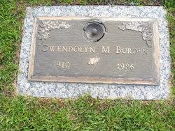 Gwendolyn M. Burden