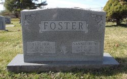 Nannie <I>Howe</I> Foster
