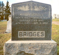 Hannah Joan <I>Wood</I> Bridges