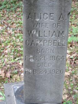 Amelia Alice <I>DeHart</I> Campbell