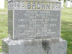 Emily E. <I>Gates</I> Brown