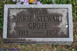 Marie <I>Stewart</I> Groff