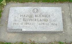 Hazel Bernice <I>Story</I> Sutherland