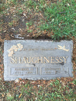 Frederick M Shaughnessy