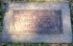 Clifford L Grove