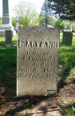 Mary Ann <I>Kirkpatrick</I> Sinnard