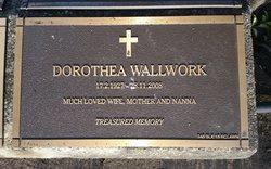 Dorothea Barbara <I>Allen</I> Wallwork