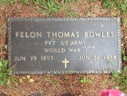 Felon Thomas Bowles