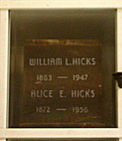 Alice E Hicks