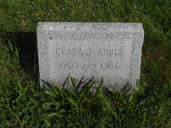 Clara <I>Jamison</I> Arble