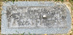 "Ethelbert W ""Bert"" Cochran"