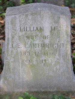 Lillian M <I>Smith</I> Cartwright