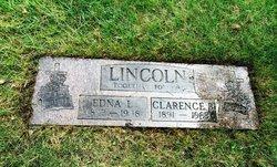 """Edna Lura """"Laura"""" <I>Bechtel</I> Lincoln"""