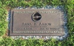 Anna B. Aaron