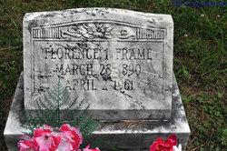 Florence Isabelle <I>Kniceley</I> Frame