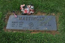 """Robert Eugene """"Gene"""" Mattingly"""