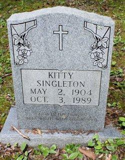 Kitty <I>Ritchie</I> Singleton