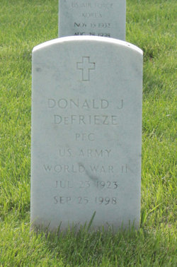 "Donald J ""Gump"" DeFrieze"