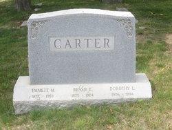Bessie E. <I>Seger</I> Carter