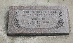 Elizabeth June Wheeler