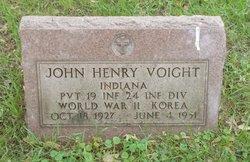 Pvt John Henry Voight