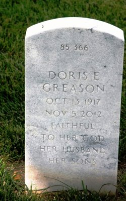 Doris E <I>Brandner</I> Greason