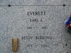 "Elizabeth ""Betty"" <I>Berrong</I> Everett"