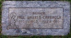 Paul Warren Carbaugh