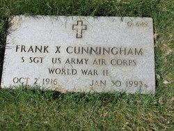Frank X Cunningham