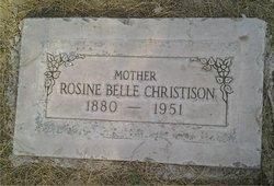 Rosine Belle <I>Frankenbery</I> Christison