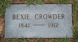 Bexie Crowder