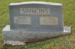 Maude <I>Connor</I> Simmons