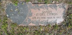 Sandy <I>Zydel</I> Citron